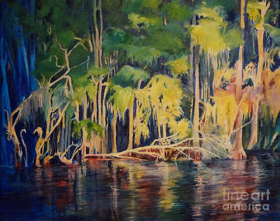 Lake Park Sunset by Barbara Moak