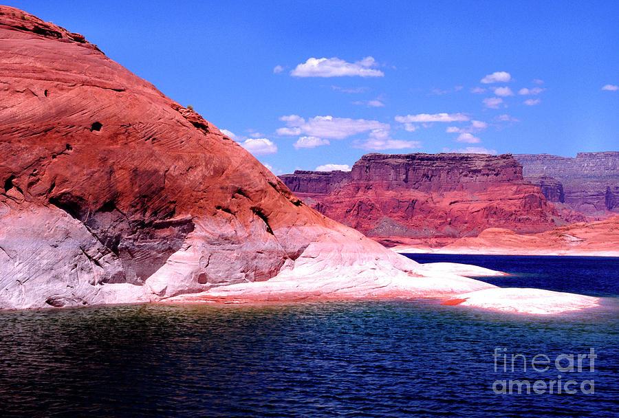 Lake Powell Glen Canyon  by Thomas R Fletcher