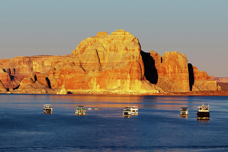Lake Powell Photograph by Lucynakoch