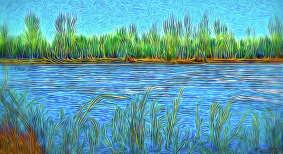 Lake Reed Meditation by Joel Bruce Wallach
