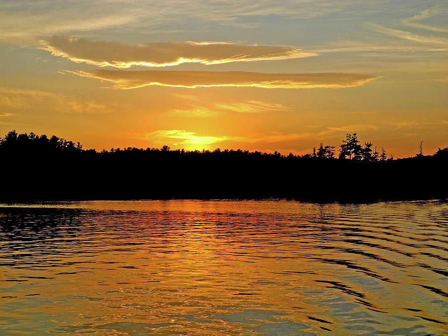 Lake Ripple Melody by Lynda Lehmann