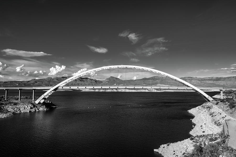 Lake Roosevelt Bridge by TM Schultze