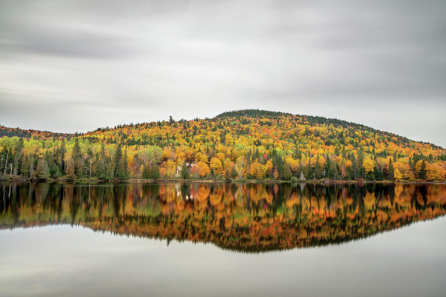 Lake Shore House in Autumn by Pierre Leclerc Photography