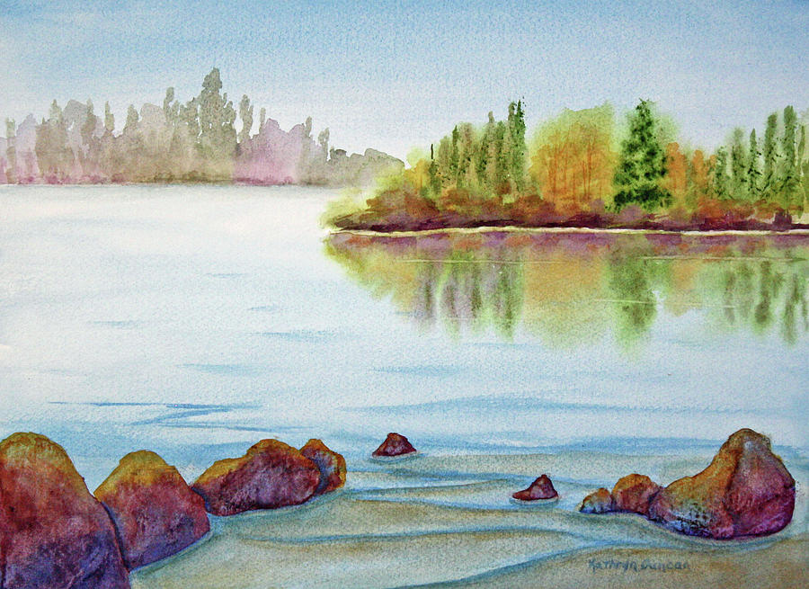 Lake Shore Serenity by Kathryn Duncan