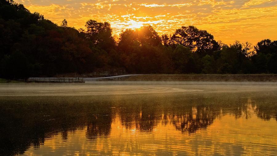 Lake Sunrise by John Benedict