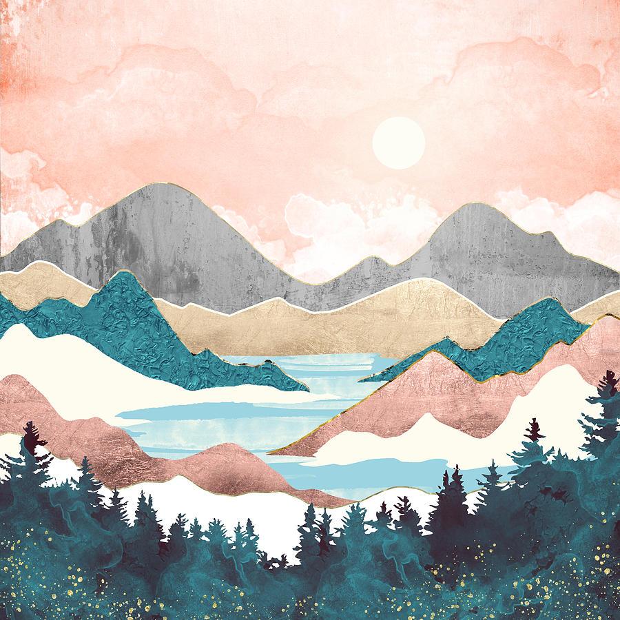 Lake Sunrise by Spacefrog Designs