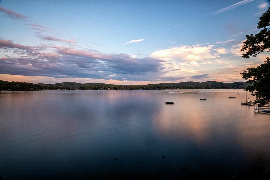 Lake Sunset by Tom Singleton