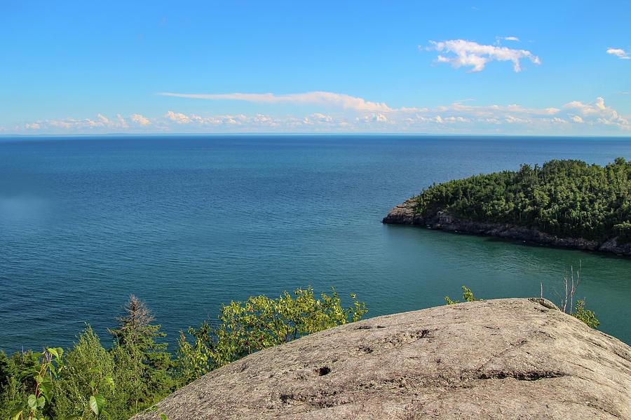 Lake Photograph - Lake Superior Blue by Laura Smith
