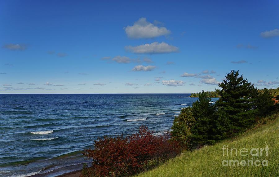 Lake Superior Near Eagle Harbor by Rachel Cohen