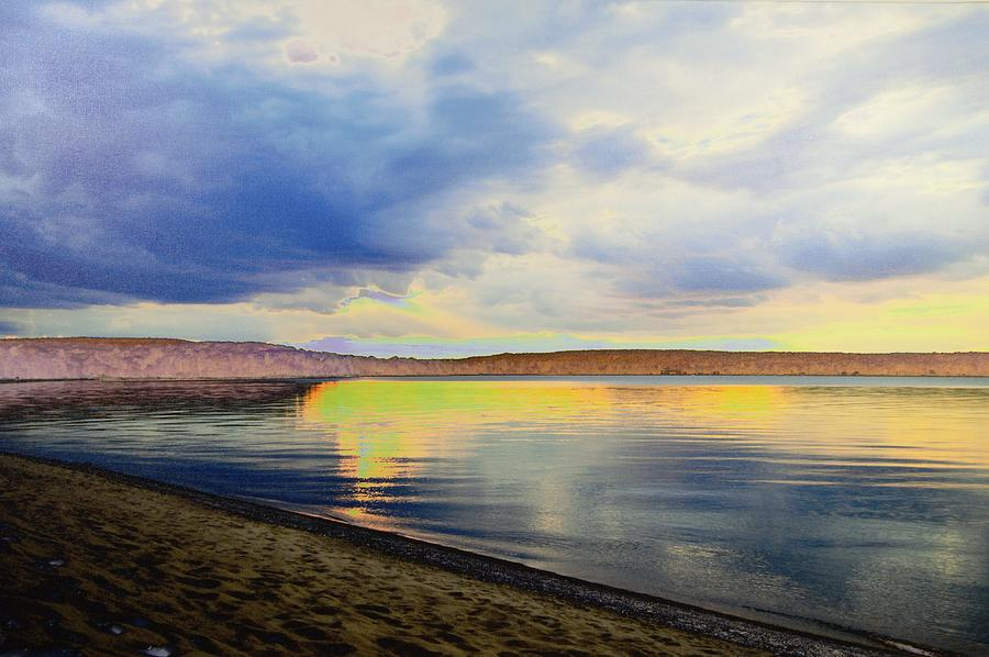 Lake Superior Sunset Photograph