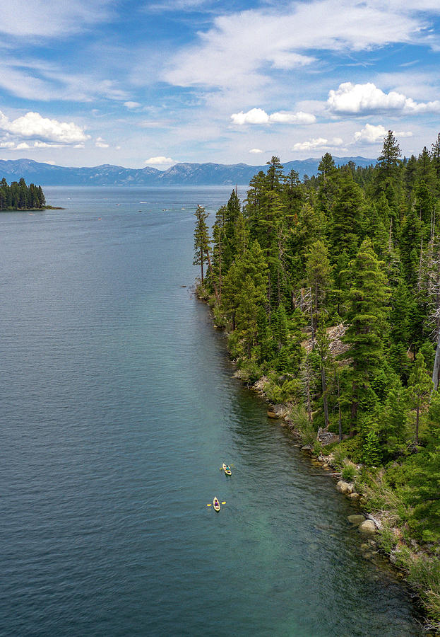 Lake Tahoe Emerald Bay  by Ants Drone Photography
