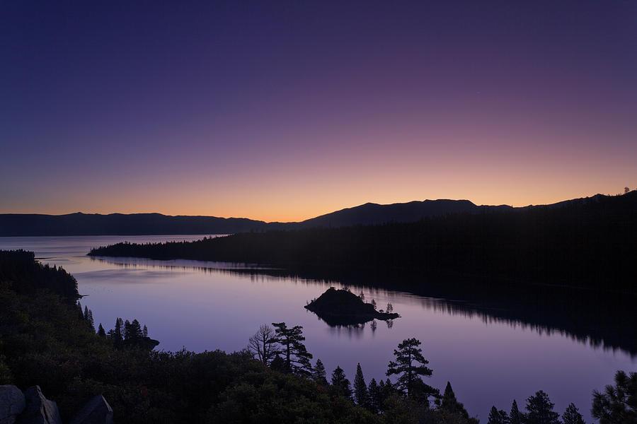 Lake Tahoe Emerald Bay Dawn Photograph by Picturelake