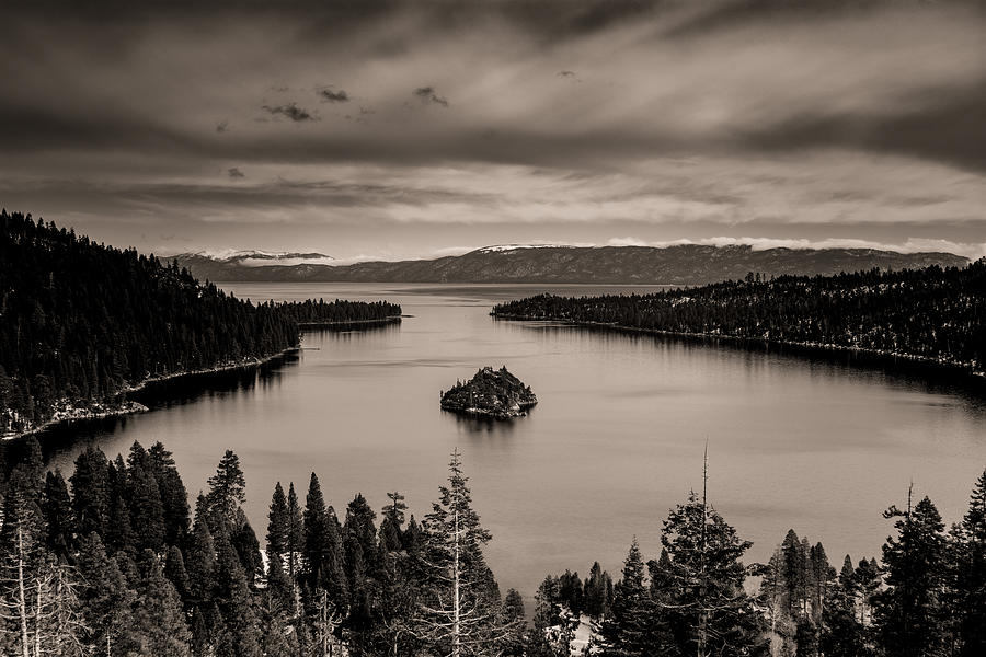Lake Tahoe Emerald Bay view by Alessandra RC