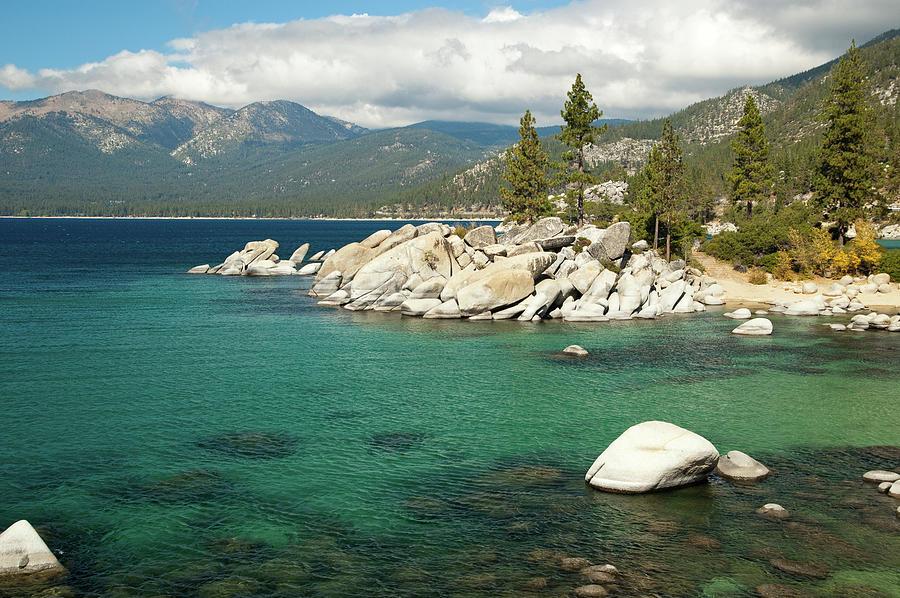 Lake Tahoe Landscape Photograph by Megan Ahrens