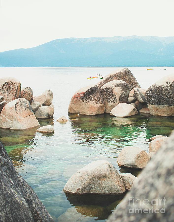 Lake Tahoe Sandy Harbor by Sonja Quintero