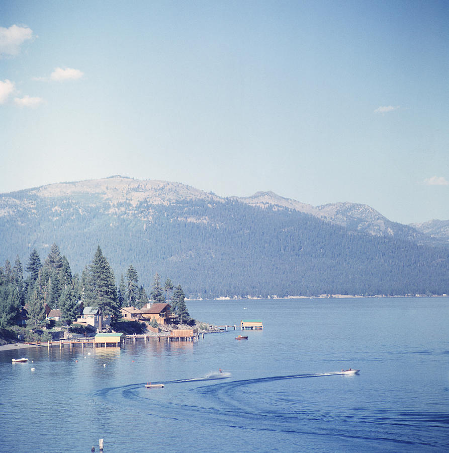 Lake Tahoe Photograph by Slim Aarons