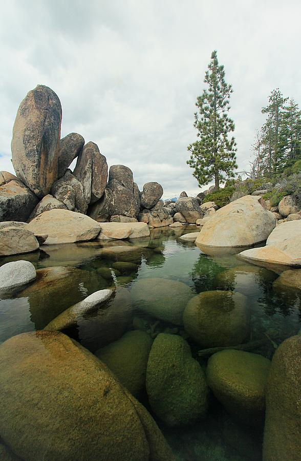 Lake Tahoe Stonehenge by Sean Sarsfield