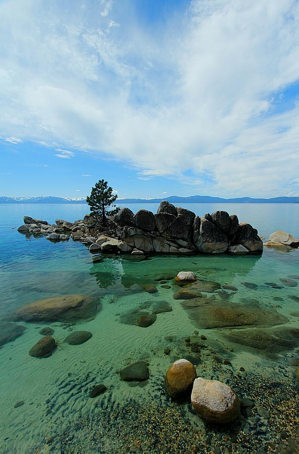Lake Tahoe Summer Waterscape by Sean Sarsfield