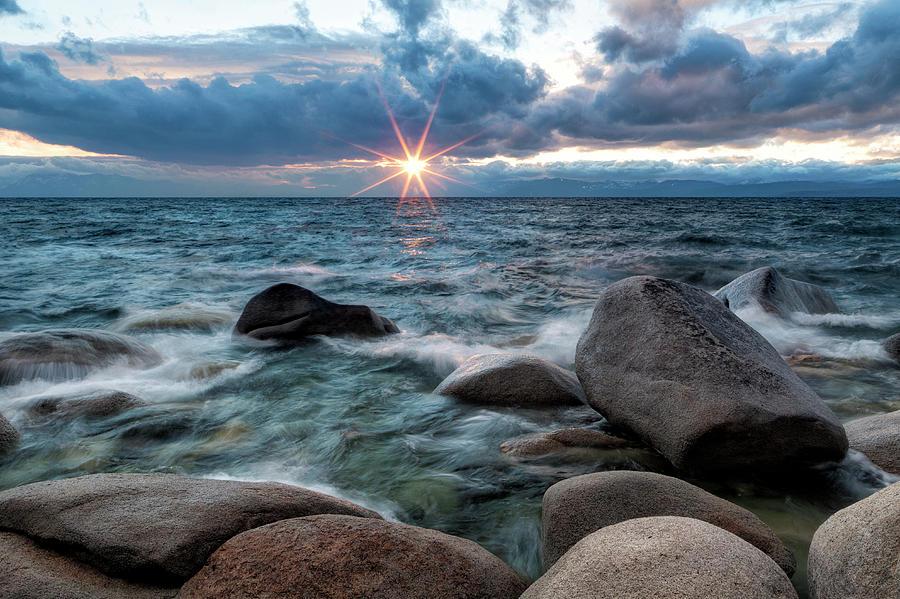 Lake Tahoe Sunset Photograph by Justin Reznick Photography