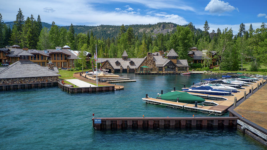 Lake Tahoe The God Father House by Ants Drone Photography