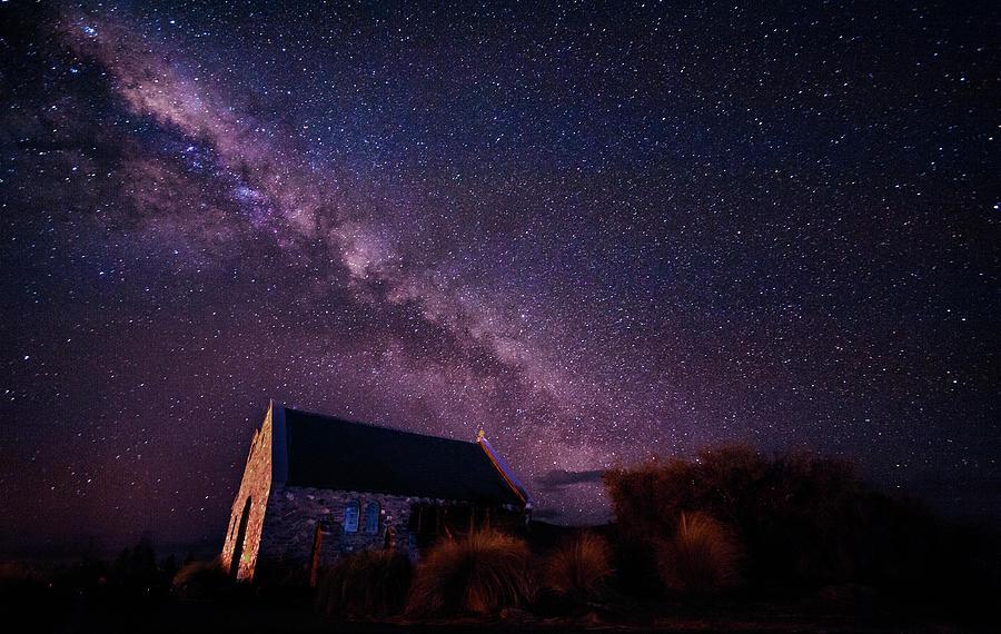 Lake Tekapo, New Zealand Photograph by Shan.shihan