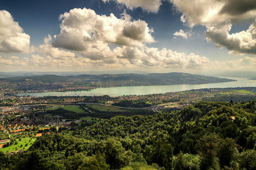Lake Zurich by Pablo Lopez