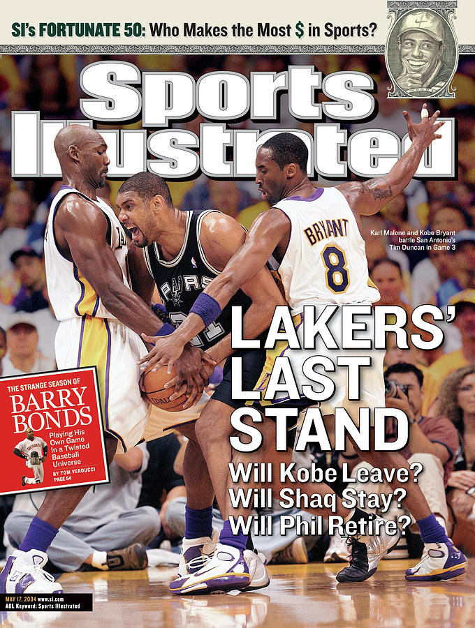 Lakers Last Stand Will Kobe Leave Whill Shaq Stay Will Phil Sports Illustrated Cover Photograph by Sports Illustrated