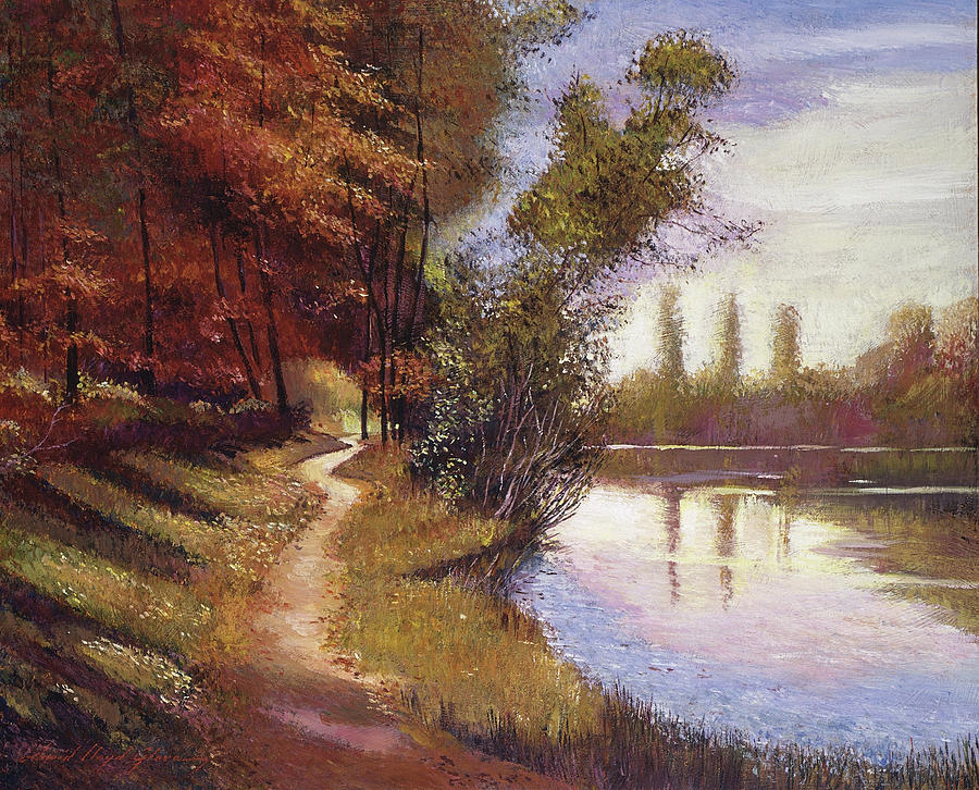 Lakeside Colors Provence Painting