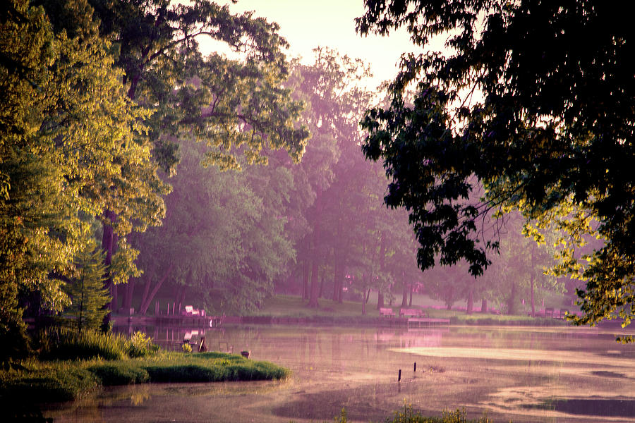 Lakeside Dawn by Barry Jones