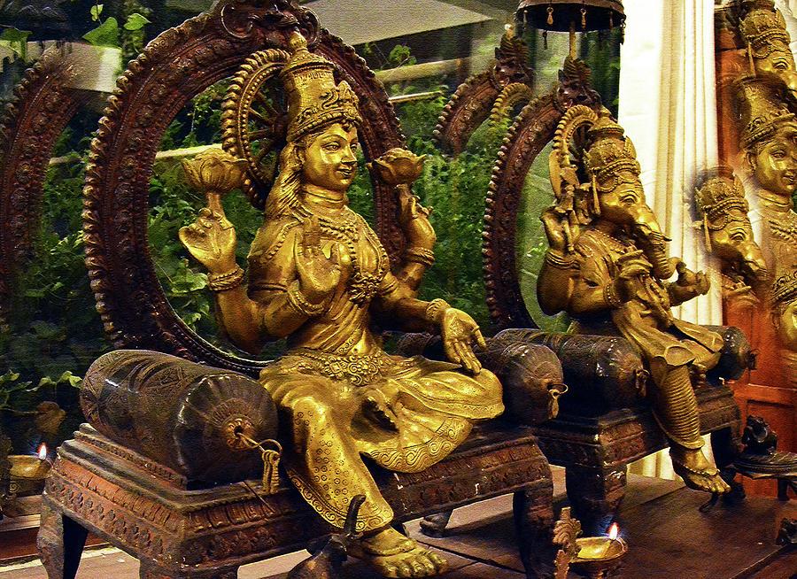 Lakshmi Ganesha blessings  by Harsh Malik