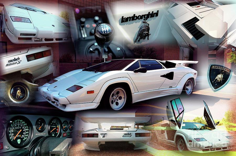 Lamborghini Countach by Charles Abrams