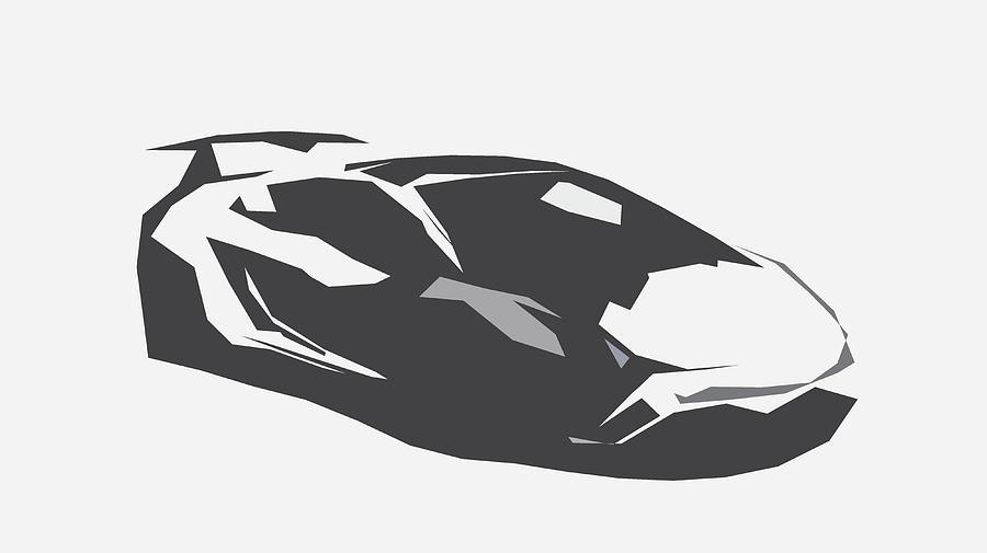Lamborghini Gallardo Lp 570 4 Squadra Corse Abstract Design