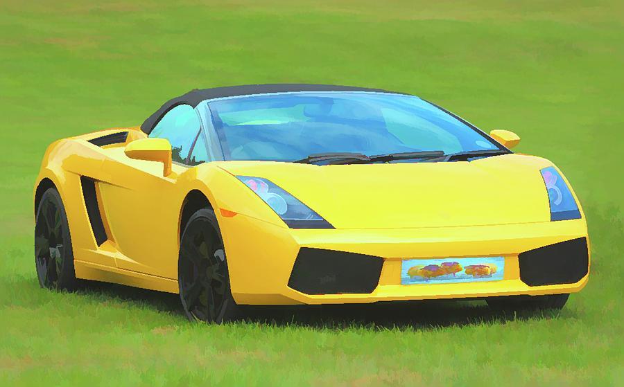 Lamborghini Murcielago Convertible Photograph By Robert Kinser