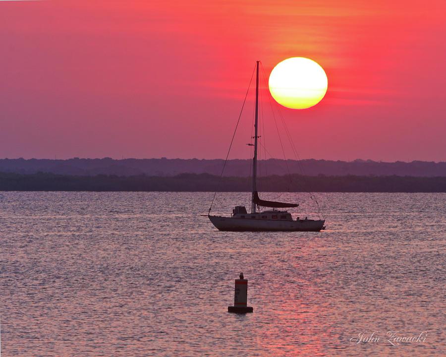 Lame monroe Sunset-5140 by John Zawacki