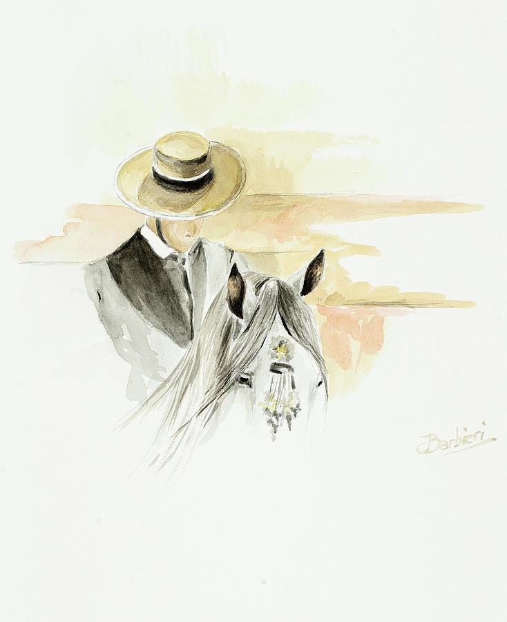 Lamina taurina 4 by Carlos Jose Barbieri