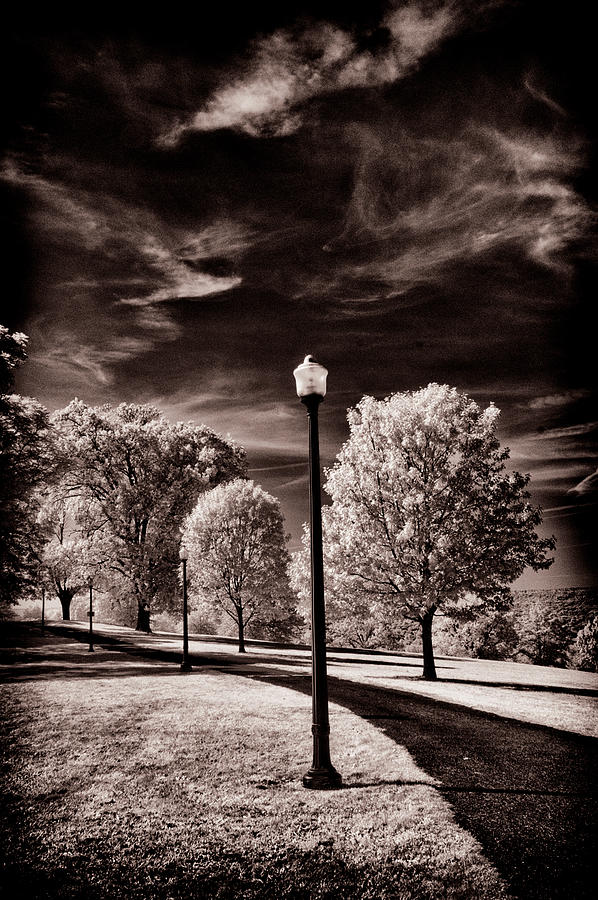Lamp Post by Paul W Faust - Impressions of Light