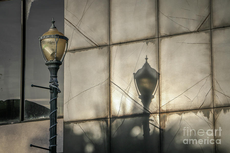 Lamppost Shadow by Tom Claud
