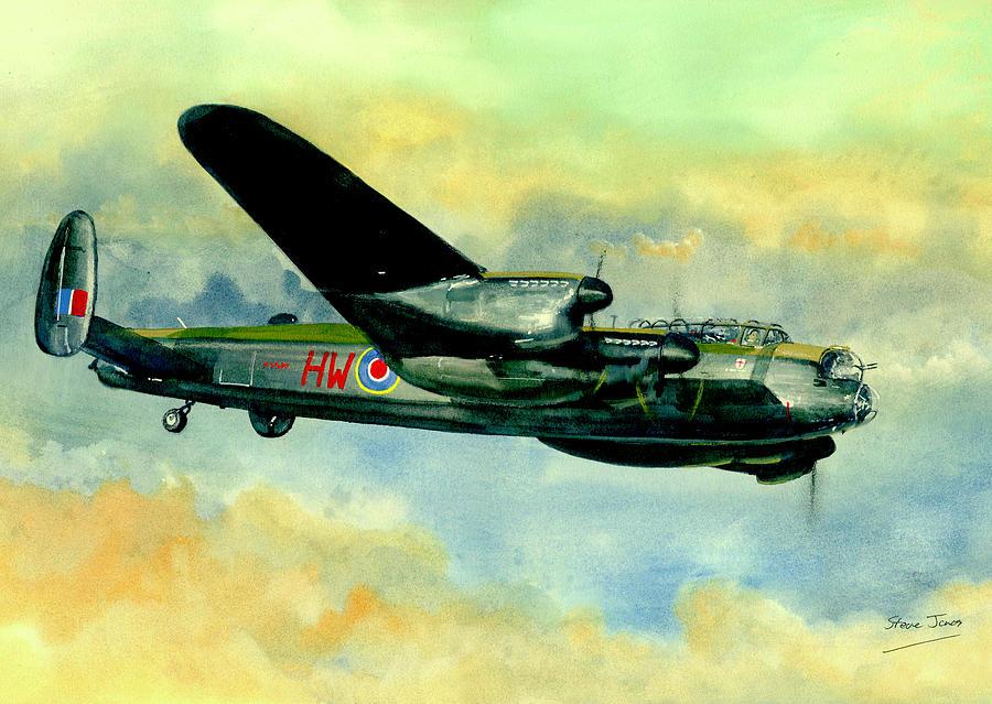 Lancaster Bomber 2 by Steve Jones