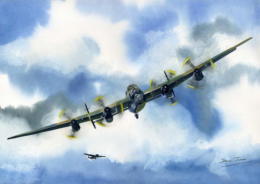 Lancaster Bomber 3 by Steve Jones