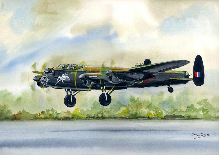 Lancaster Bomber by Steve Jones
