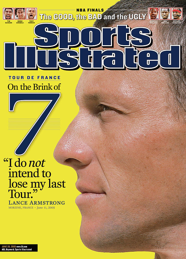 Lance Armstrong On The Brink Of 7 Tour De France Sports Illustrated Cover Photograph by Sports Illustrated