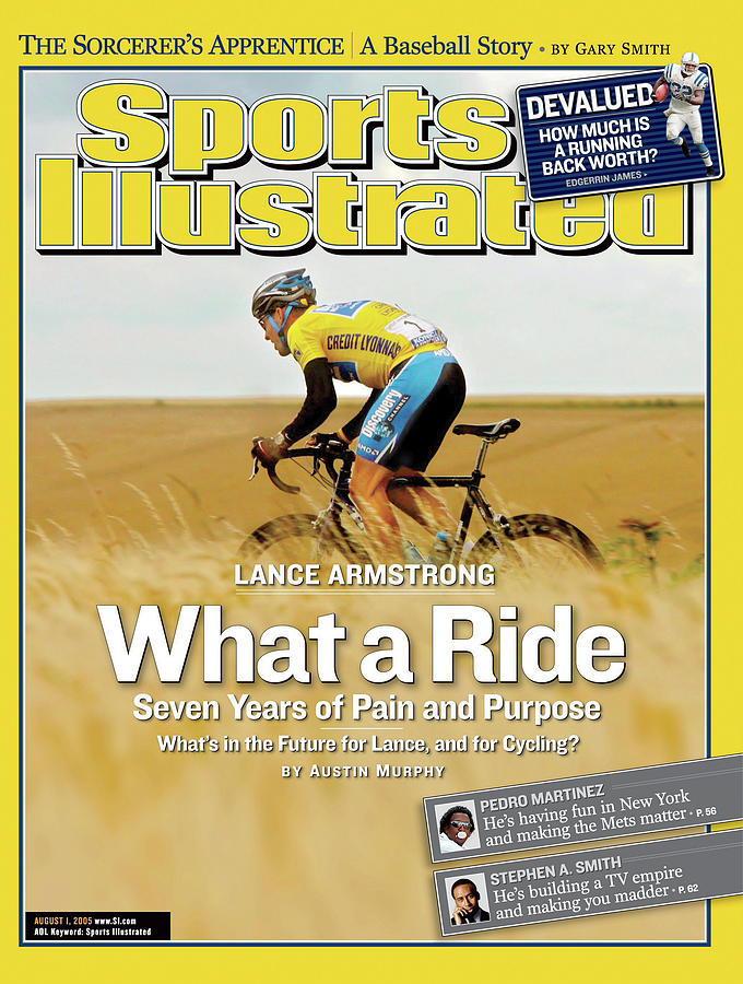 Lance Armstrong What A Ride, Seven Years Of Pain And Purpose Sports Illustrated Cover Photograph by Sports Illustrated