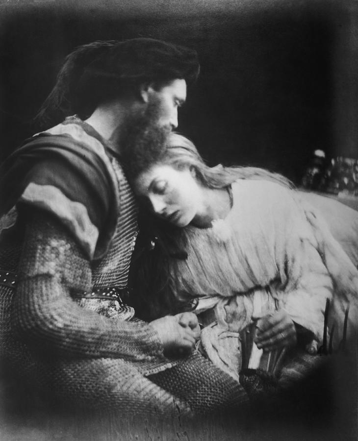 Lancelot And Guinevere Photograph by Julia Margaret Cameron