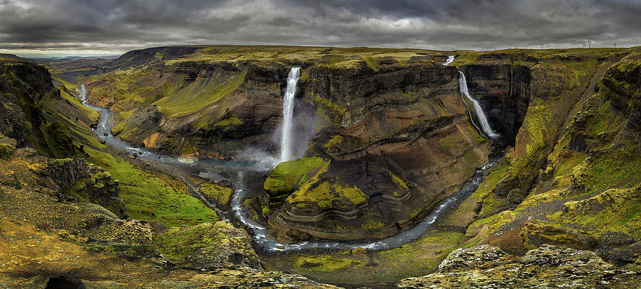 Iceland Photograph - Land Of Waterfalls by �lvaro P�rez &