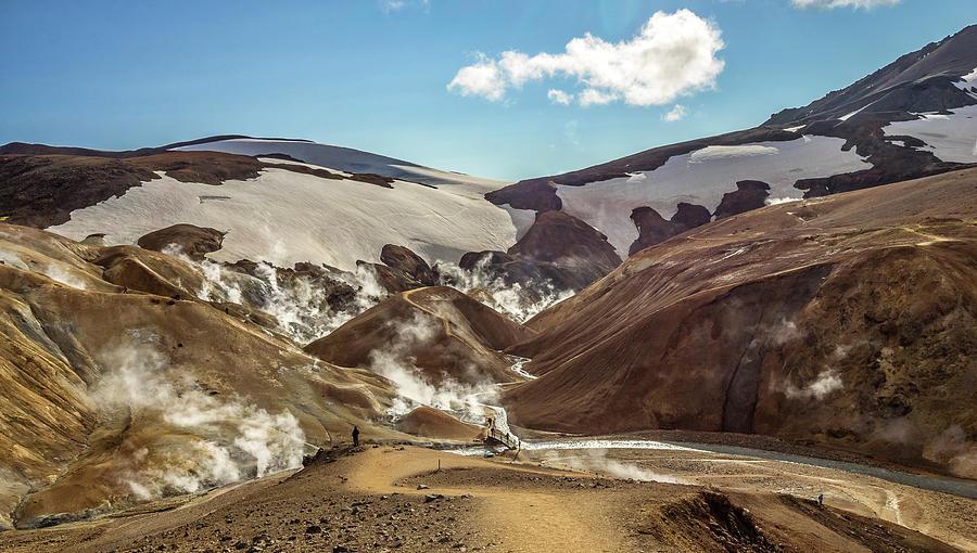 Landmannalaugar-Iceland by Usha Peddamatham