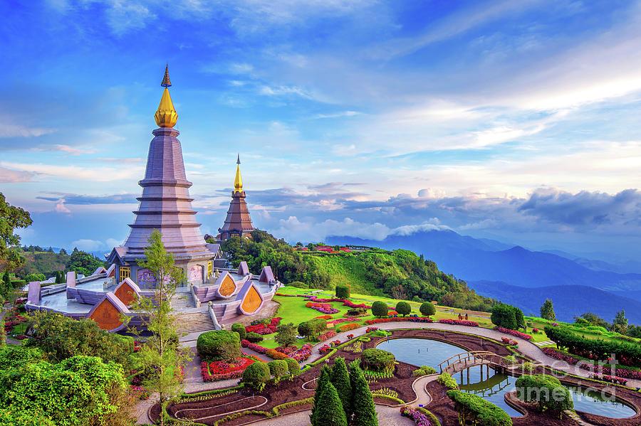 Landmark Pagoda In Doi Inthanon Photograph by Tawatchaiprakobkit