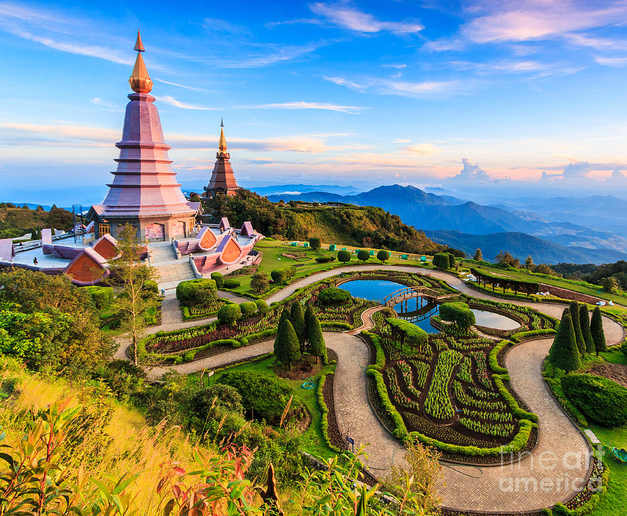 Sukhothai Photograph - Landmark Unseen Thailand  Pagoda by Apiguide