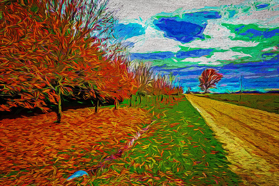 Landscape 33 by Cliff Guy