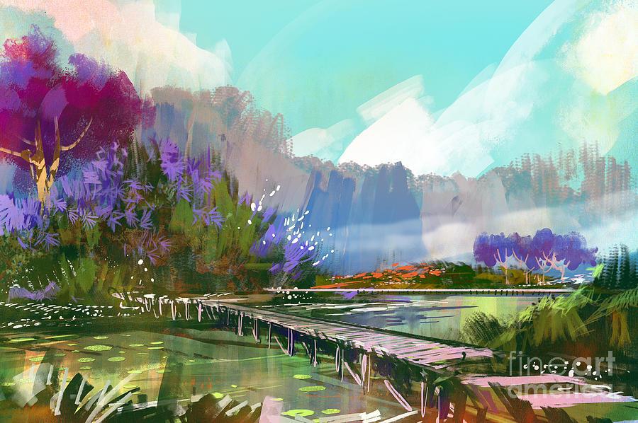 Landscape Digital Artwork