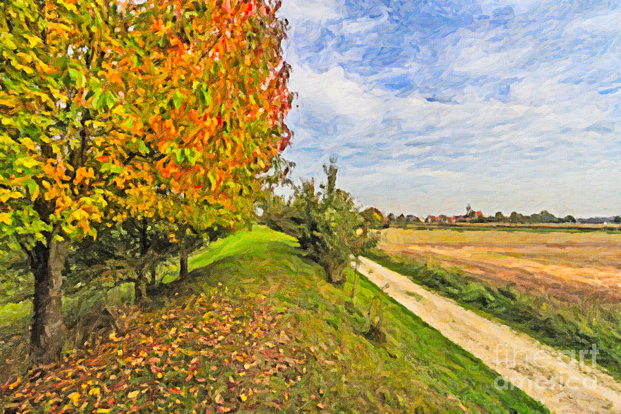 Landscape in Bavaria by Bernd Laeschke